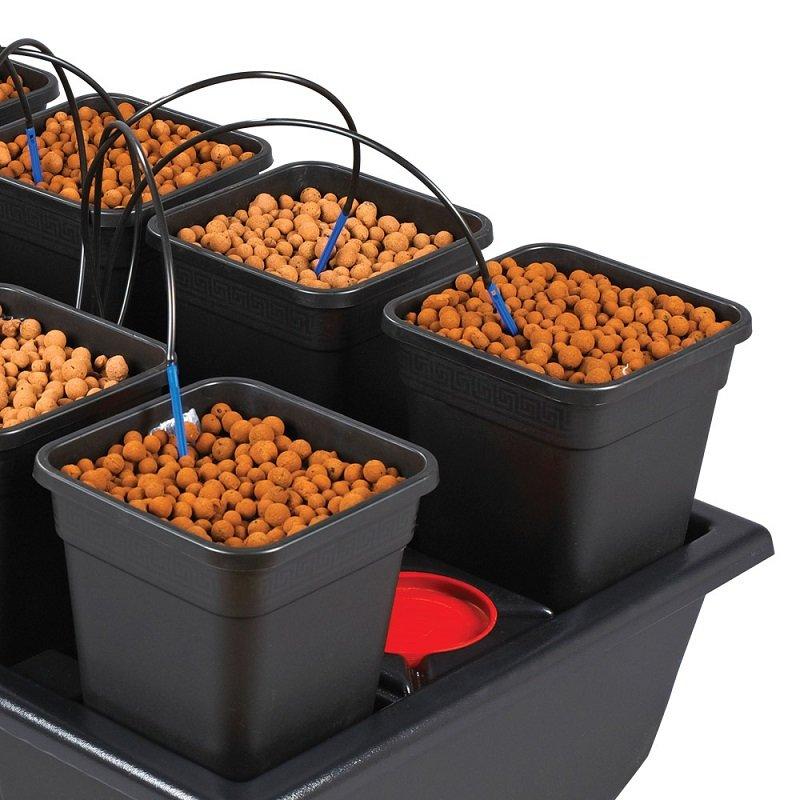 Sistema di irrigazione atami wilma small completo da 10 for Sistema irrigazione a goccia