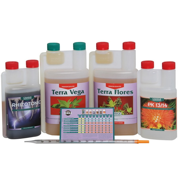 Kit di Fertilizer CANNA Terra
