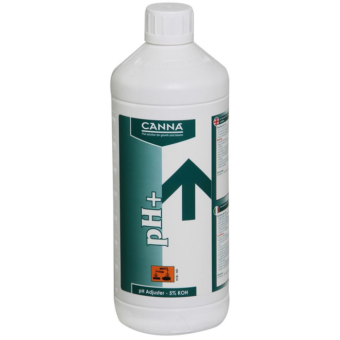 Canna idrossido di potassio 1000ml pH +