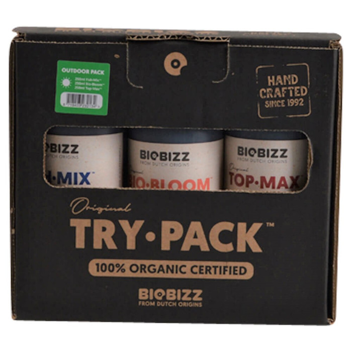 Kit di base BIOBIZZ Try-Pack Outdoor