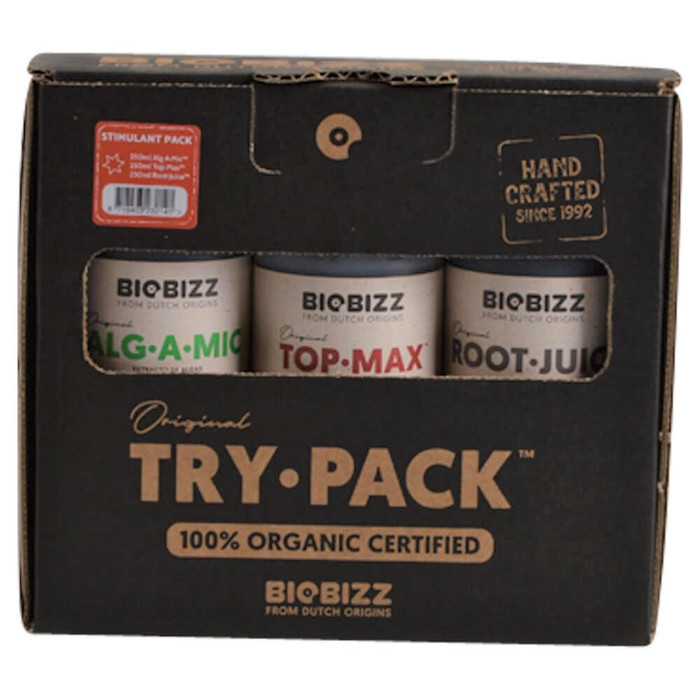 Kit di base BIOBIZZ Try-Pack Stimulant