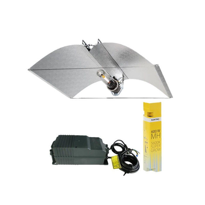 Kit Illuminazione 600W MH Elektrox Super Grow - Azerwing