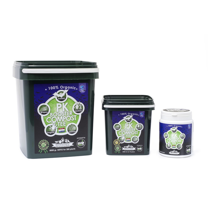 PK Booster Compost Tè 100% biologico