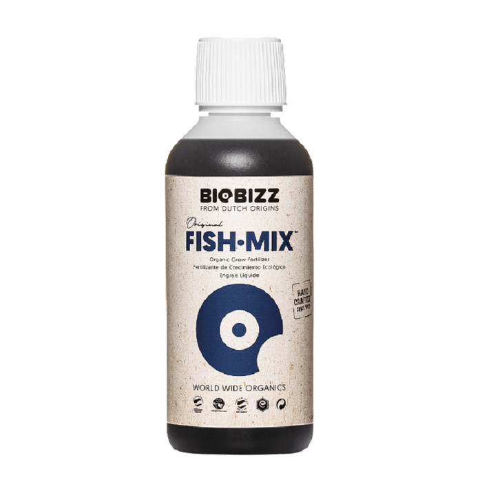 BIOBIZZ Fish-Mix biologico fertilizzante 250ml - 10L