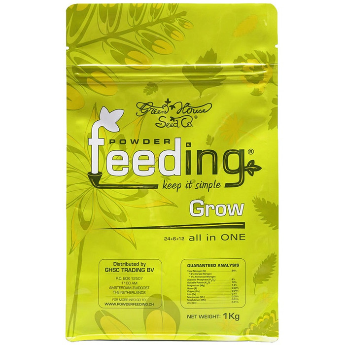 Green House Powder Feeding Grow 125g, 500g, 1kg
