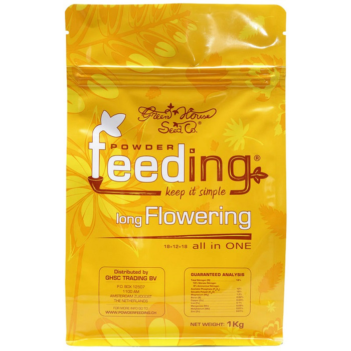 Green House Powder Feeding long Flowering 125g, 500g, 1kg